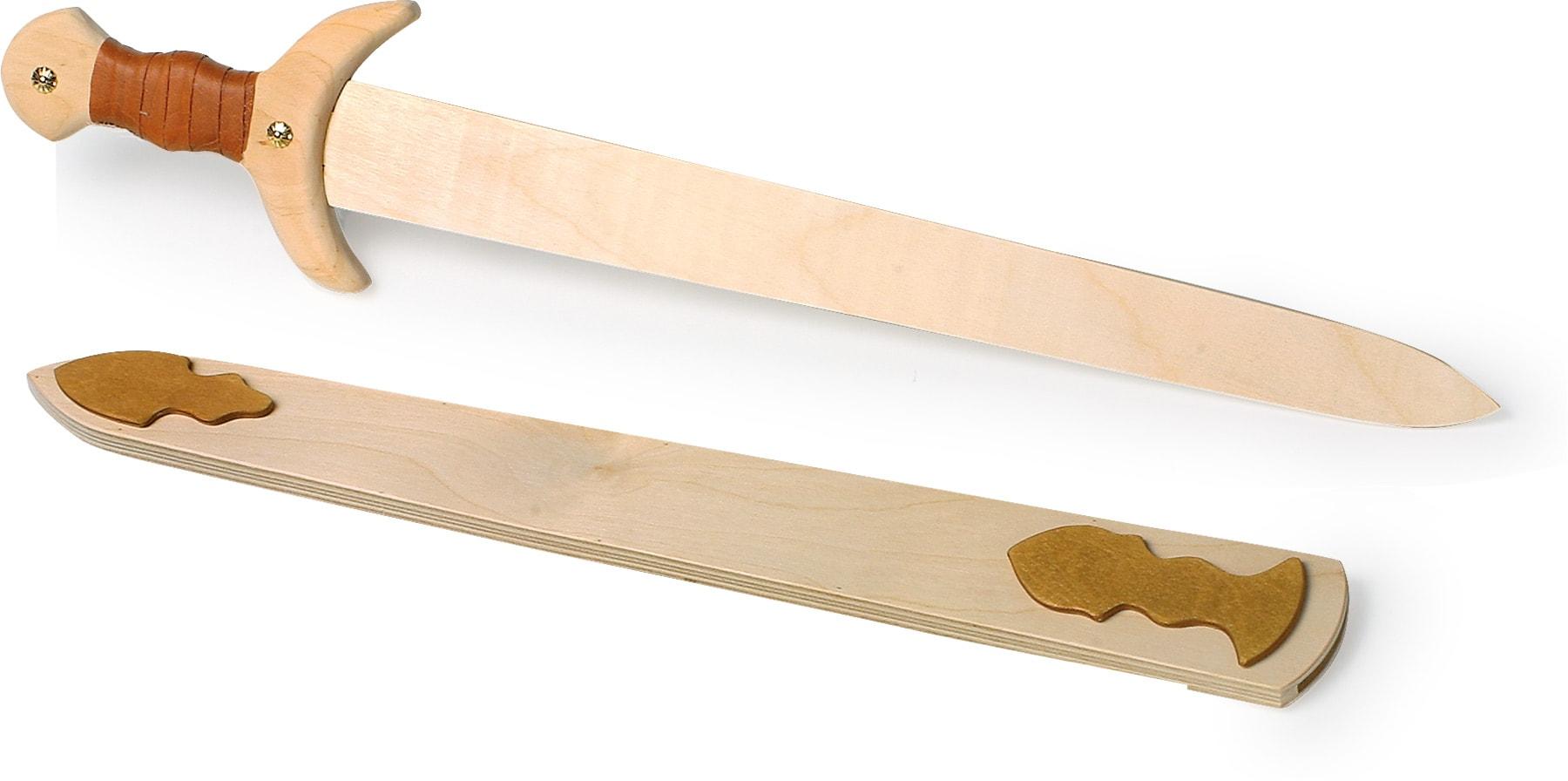 houten speelgoed zwaard