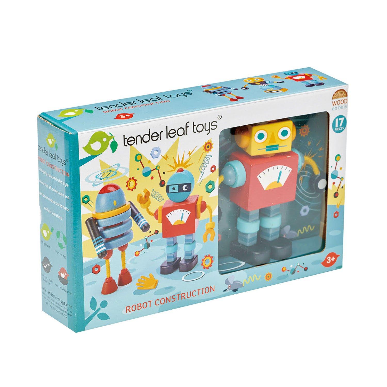 Houten robots